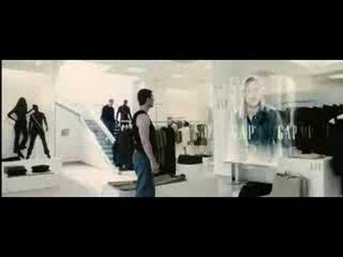 Minority Report Scene Gap Store Video