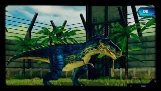 All dinosaurs in Jurassic world the game