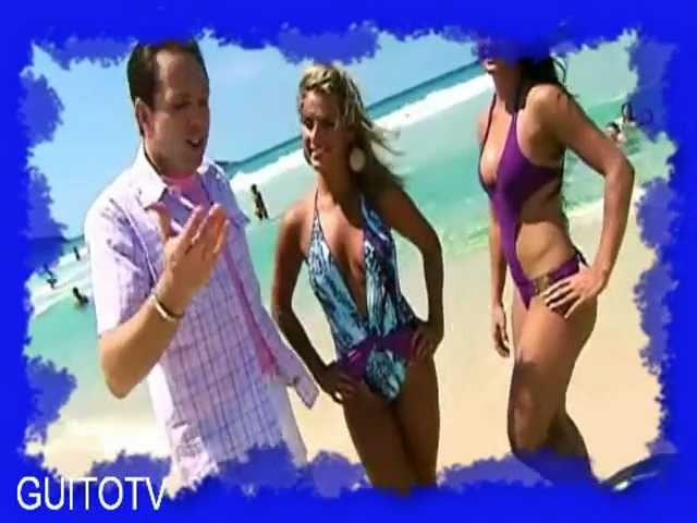 Desfile de bikinis en Playa de Brasil