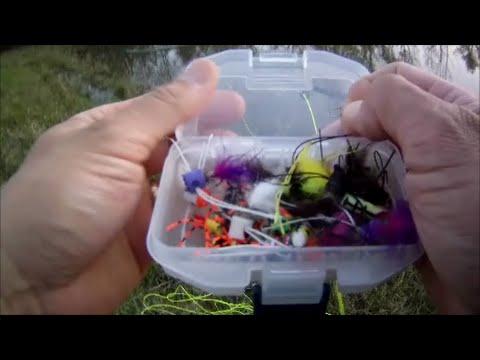 Top Water Panfish  amp  Bass Flyfishing April 2016