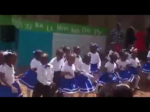 Young kids dancing afadhali Yesu by Size 8