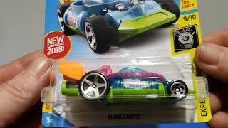 2018 Hot Wheels New Models Complete
