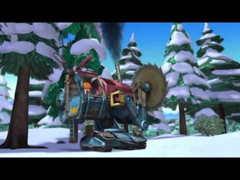 Медведи соседи: Зимние каникулы (2013) - Русский трейлер мультфильма