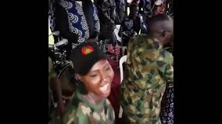 soldier performance I'm so glad to see Nigeria soldiers singing praising songs