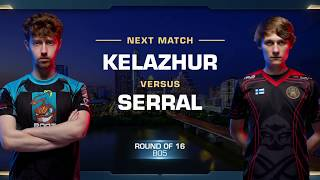 Serral vs Kelazhur TvZ - Round of 16 - WCS Austin 2018 - StarCraft II