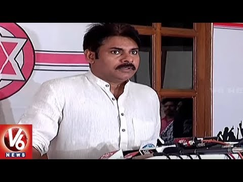 JanaSena Chief Pawan Kalyan Plans To Meet Left Party Leaders Over Special Status | V6 News