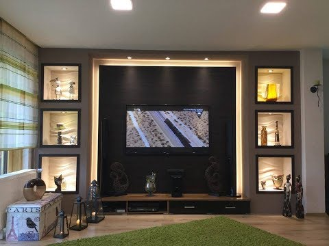 media wand selber bauen videolike. Black Bedroom Furniture Sets. Home Design Ideas