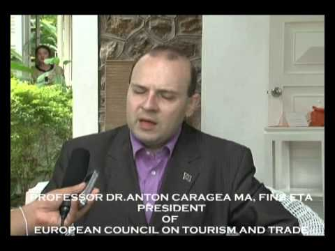 EUROPEAN COUNCIL ON TOURISM AND TRADE PRESIDENT SPEAKS ABOUT LAOS-WORLD BEST TOURIST DESTINATION