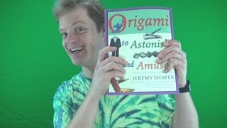 Origami To Astonish And Amuse Giveaway - Closed-finished-completed