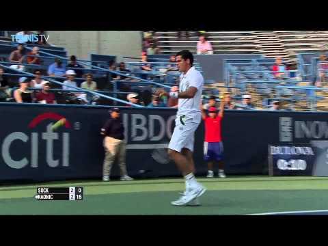 Washington 2014 Wednesday Highlights Berdych Raonic Nishikori