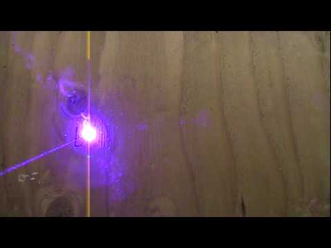 My 445nm 1.1W Handheld Laser
