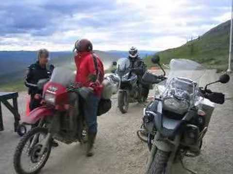 Canadian Arctic By Motorbike - Episode 2
