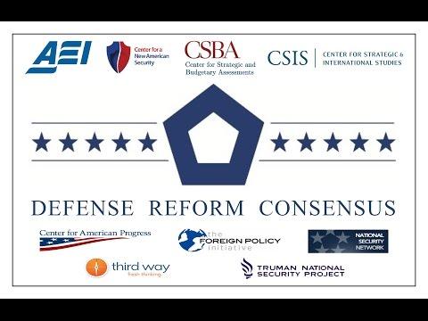 Defense Reform Consensus