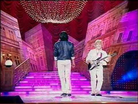 Пародия на Modern Talking.