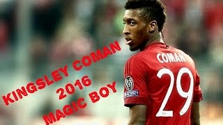 Kingsley Coman 2016▶Magic boy ▶Bayern München▶Amazing Skills & Goals▶HD