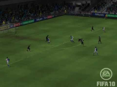 FIFA10 - Man City 1 -3 Blackburn Rovers - Mario Balotelli