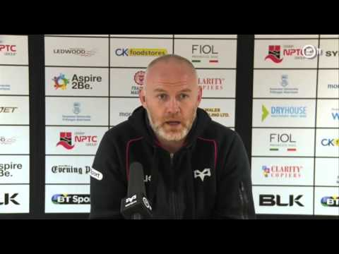Ospreys TV: Steve Tandy's post-match press conference (Edinburgh)
