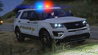 LSPDFR - Day 989 - Walk and Turn Field Sobriety Test