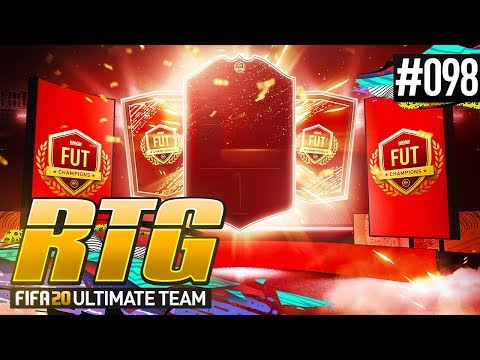 AMAZING FUT CHAMPS REWARDS! - #FIFA20 Road to Glory! #98 Ultimate Team