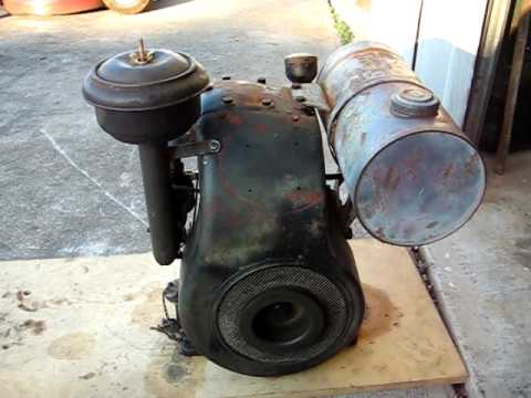 1943 Briggs & Stratton ZZ engine
