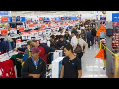 Black Friday Retail Sales Struggle