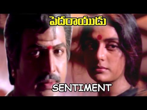 Bhanupriya & Mohan Babu Sentiment || Pedarayudu  Movie || Mohan Babu, Rajinikanth, Soundarya