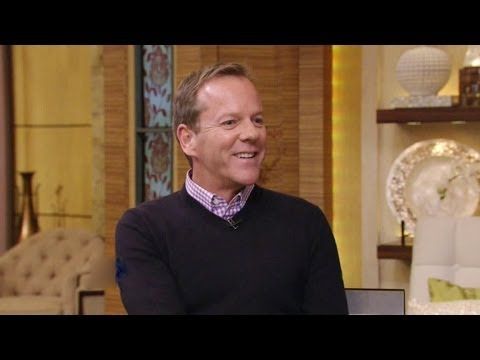 Kiefer Sutherland on Live! With Kelly and Michael 2/17/2014 (HD)