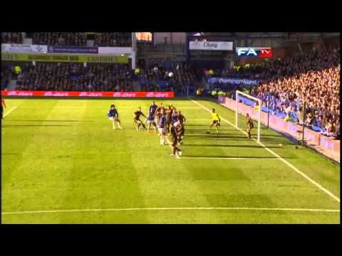 Everton 1-1 Chelsea | The FA Cup 4th Round - 29/01/11