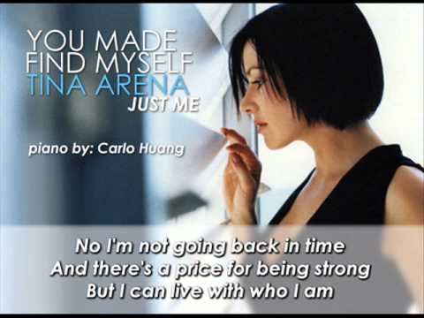 Tina Arena - You Made me Find Myself