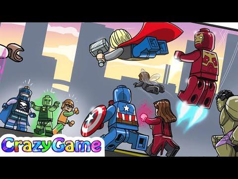 #LEGO MARVEL's Avengers Complete Walkthrough #17 The Masters of Evil (4K)