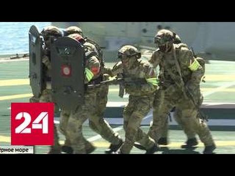 Спецназ ФСБ начал масштабные учения в Крыму