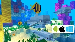 Update Aquatic Phase One For Bedrock Minecraft