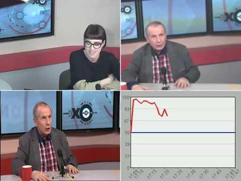 Веллер БОМБАНУЛ облил водой и швырнул микрофон в ведущую Эхо Москвы