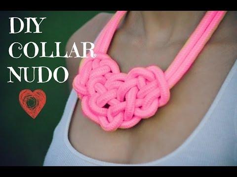 DIY collar nudo