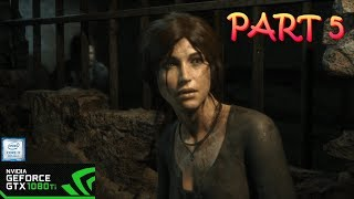 Rise of the Tomb Raider | GTX 1080TI | ULTRA | Gameplay Part 5: Escaping The Prison Camp