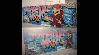 Trim1 & Göçmen (Newyork to İzmir Graffiti Project)