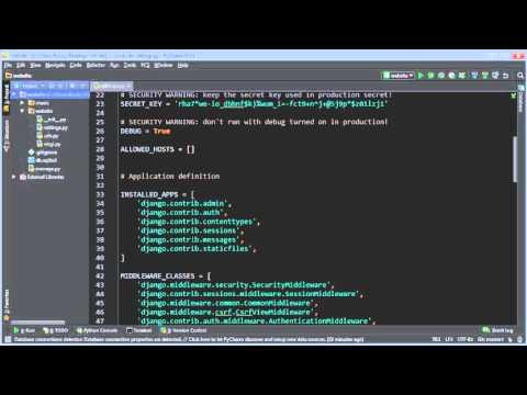 Django Tutorial for Beginners - 6 - Database Setup