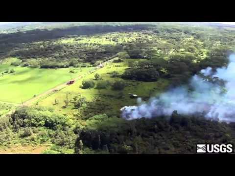 USGS Kilauea lava flow October 24, 2014