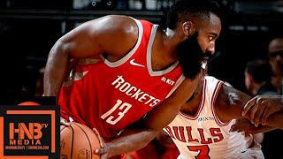 Houston Rockets vs Chicago Bulls Full Game Highlights | 12.01.2018, NBA Season