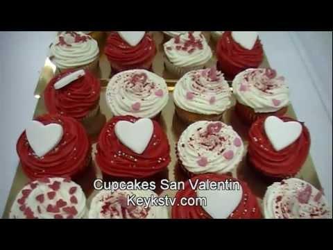 C mo hacer wrappers para cupcakes de san valent n youtube - Ideas para sanvalentin ...