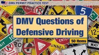 Driving license test: DMV Questions of Defensive Driving