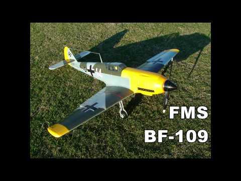 FMS (Airfield) Messerschmitt BF-109 Radio Control Warbird