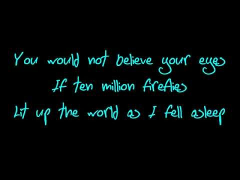 Owl City-Fireflies Rock version (Lyrics)