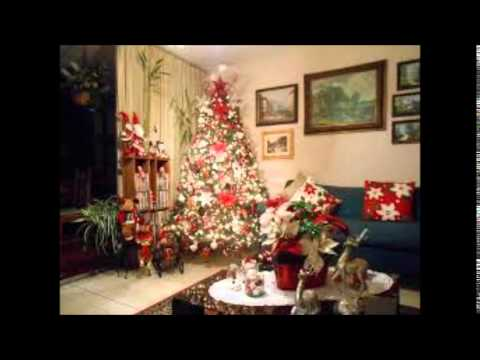 Decoraci n de casa para navidad 2014 2015 youtube for Decoracion facil decasa