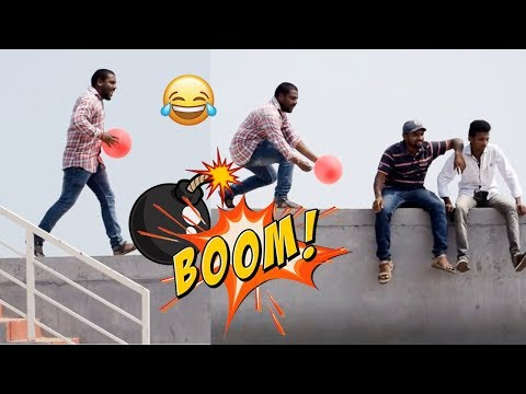 Funny Balloon Prank Video | 2018 Latest PRANK Videos | Telugu Comedy Videos | Tollywood Nagar