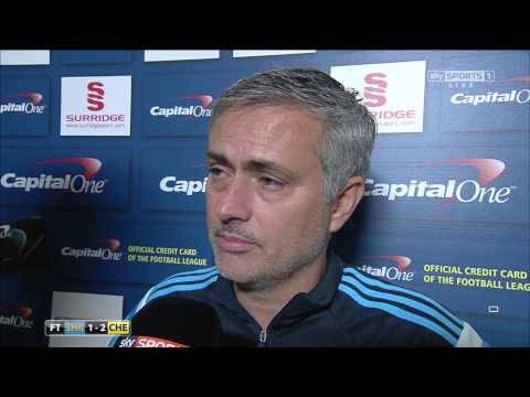 Mourinho Post Match Interview ( Shrewsbury 1 Chelsea 2 ) 28-10-2014