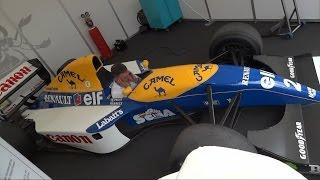 Formula 1 Williams Renault FW15C Revs and Active Suspension