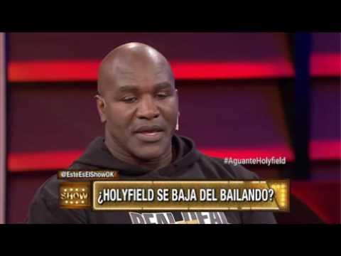 """Evander Holyfield, furioso con el jurado del Bailando: """"No entiendo bien a qué me trajeron"""""""