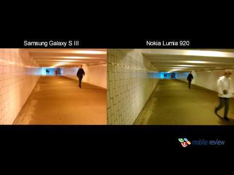 Тест качества видеозаписи. Nokia Lumia 920 vs Samsung Galaxy S III (1)