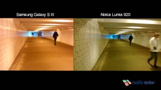   . Nokia Lumia 920 vs Samsung Galaxy S III (1)